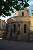 Tempel-Kirchenhauptgebäude, mittelalterliche Kirche errichtet von den Rittern Templar, London, Großbritannien Lizenzfreies Stockfoto