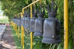 Tempel Klocka Line1 Arkivbilder