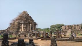 Tempel Konark Sun - Architekturschönheit von Indien stockbilder