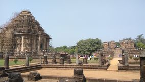 Tempel Konark Sun - Architekturschönheit von Indien Lizenzfreies Stockfoto