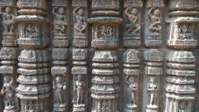 Tempel Konark Sun - Architekturschönheit von Indien Stockfoto
