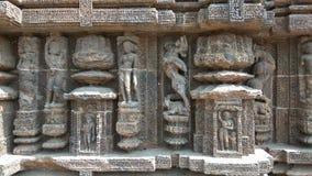 Tempel Konark Sun - Architekturschönheit von Indien lizenzfreie stockbilder