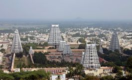Tempel-Kontrolltürme in Indien Lizenzfreie Stockfotografie