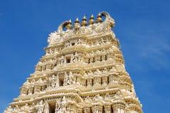 Tempel-Kontrollturm Lizenzfreies Stockbild
