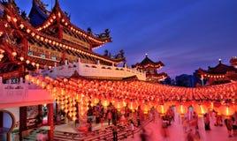 Tempel Kuala Lumpur Thean Hou Lizenzfreies Stockbild
