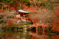 Tempel in Kyoto Royalty-vrije Stock Fotografie