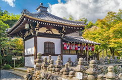 Tempel Kyoto Adashino Nenbutsu-ji Lizenzfreie Stockbilder