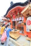 Tempel Kyotos Kiyomizudera Stockbilder