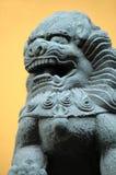Tempel-Löwe stockbild