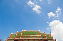 Tempel in Lampang Stock Afbeeldingen