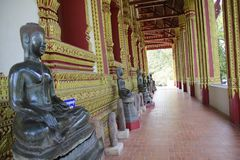 Tempel in Laos stockfoto