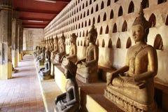 Tempel in Laos stockbilder