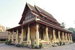 Tempel in Laos lizenzfreies stockbild