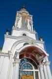 Tempel-Leuchtturm Sankt Nikolaus von Myra im Dorf Malorechen Lizenzfreie Stockfotos