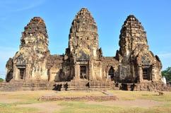 Tempel in Lopburi, Thailand. Stock Foto's