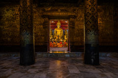 Tempel in Luang Prabang Stock Foto