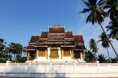 Tempel Luang Prabang Royal Palace im Museum, Laos Stockbilder