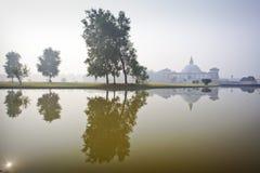Tempel in Lumbini Lizenzfreie Stockbilder