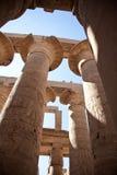 Tempel in Luxor Stock Afbeelding