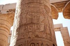 Tempel in Luxor Stock Foto's