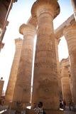 Tempel in Luxor Royalty-vrije Stock Foto's