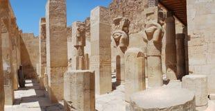 Tempel in Luxor Lizenzfreies Stockbild