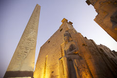 Tempel in Luxor, Egypte Royalty-vrije Stock Afbeelding