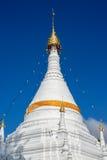 Tempel in Mae Hong Son City, Thailand stockbilder