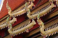 Tempel in MAI Chiang Royalty-vrije Stock Foto's