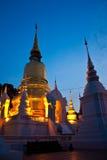 Tempel in MAI Chiang Stock Afbeeldingen