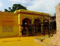 Tempel Mailar Mallana nahe Beedar stockfotos