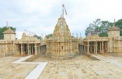 Tempel in massieve Chittorgarh-Fort en gronden Rajasthan India Stock Fotografie