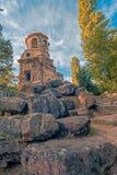 Tempel of Mercury. The Tempel of Mercury at palace garden of Schwetzingen Castle, Germany Stock Photo