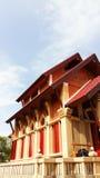Tempel met hemel royalty-vrije stock afbeelding