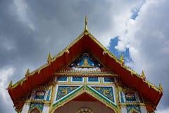 Tempel mit Himmel Lizenzfreie Stockbilder