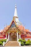 Tempel mit Pagode Lizenzfreies Stockbild