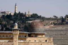 Tempel-Montierung in Jerusalem lizenzfreies stockfoto