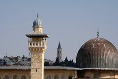 Tempel-Montierung in Jerusalem stockbild