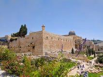 Tempel-Montierung Jerusalem lizenzfreies stockbild