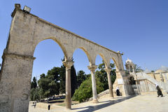 Tempel-Montierung, Jerusalem. lizenzfreie stockfotos