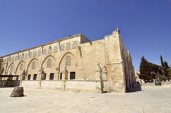 Tempel-Montierung in Jerusalem. lizenzfreies stockfoto