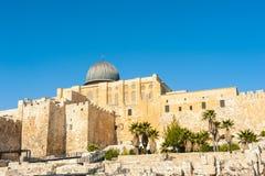 Tempel-Montierung in Jerusalem Lizenzfreies Stockbild