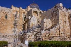 Tempel Mount historical Landscape Jerusalem Israel Stock Photography