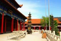 Tempel Mudanjiangs Yuantong stockfotografie