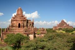 Tempel Myauk Guni und Dhammayan von Taung Guni Bagan myanmar Stockfotos
