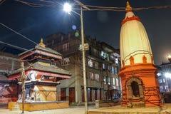 Tempel, når ommålning av folket royaltyfri fotografi