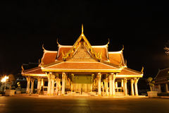 Tempel-Nacht Lizenzfreies Stockbild