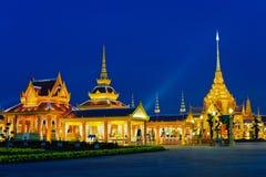 Tempel nachts Lizenzfreies Stockfoto