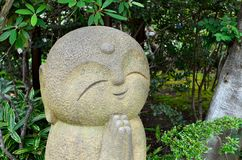 Tempel Nagomi Jizo Hase-dera Stockbild
