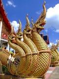 Tempel in Nakon Pathom, Thailand Stock Fotografie